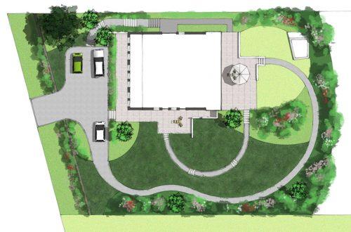 Heidelandschaft von Freiformat Garten- und Landschaftsbau, Goch, Gartenplanung mit Gartenansicht